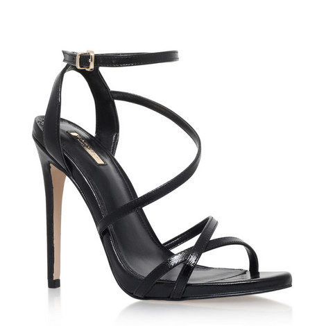 Georgia Strappy Heeled Sandals, ${color}