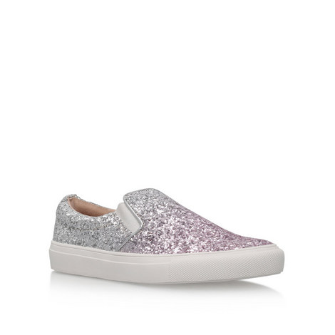 Lyon Glitter Low Top Trainers, ${color}