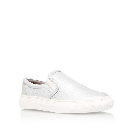 Lyon Metallic Low Top Trainers, ${color}