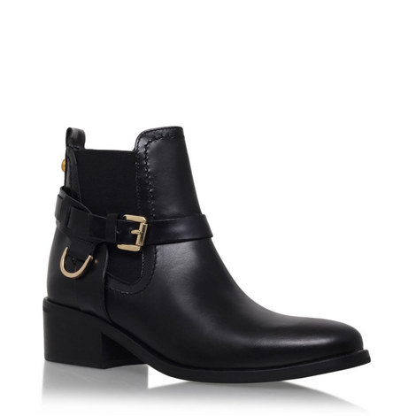 Saddle Ankle Boots, ${color}