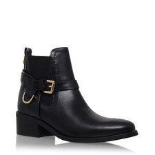 Saddle Ankle Boots