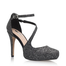 Antler Cross Strap Court Shoes