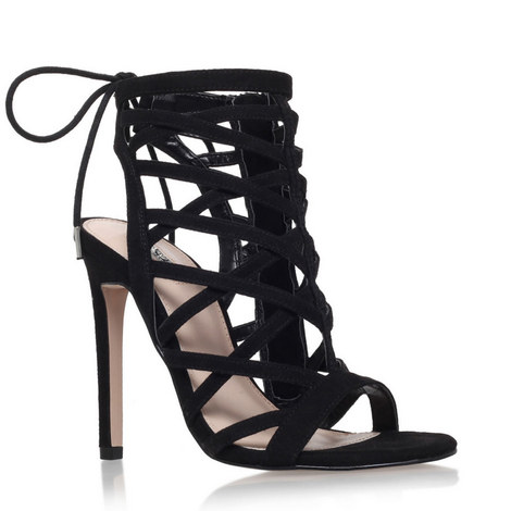 Gracie Caged Heeled Sandals, ${color}
