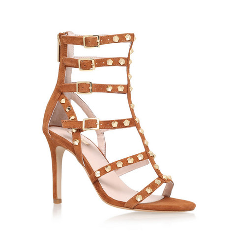 Gloss Mid Heel Sandals, ${color}