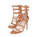 Gloss Mid Heel Sandals, ${color}
