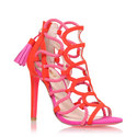 Gabriel Caged Heeled Sandals, ${color}