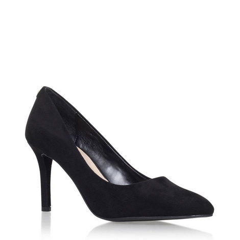 Aubrey Mid Heel Court Shoes, ${color}