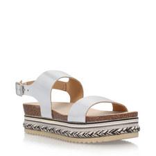 Kitten Flatform Sandals