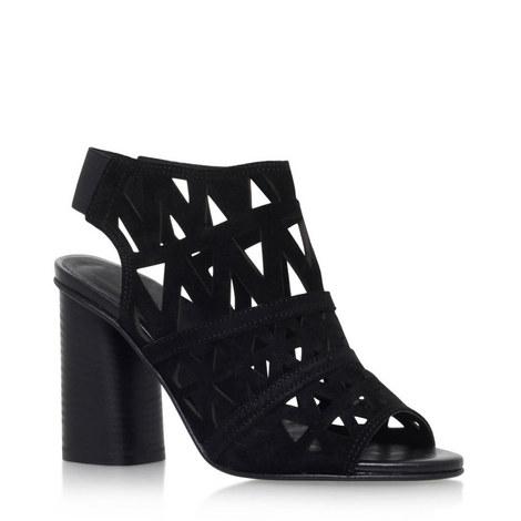 Kupid Laser Cut Block Heels, ${color}