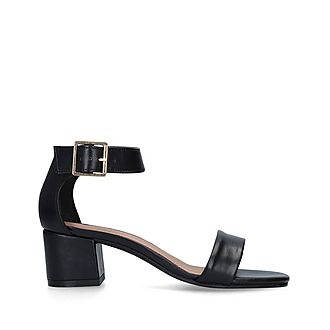 Shadow Block Heel Sandals