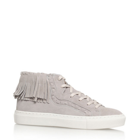 Lakes Fringed High Top Trainers, ${color}