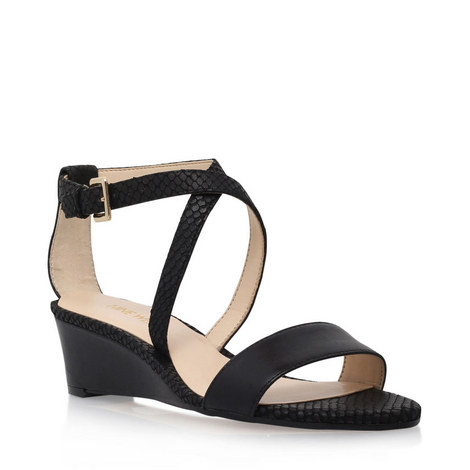 Lacedress Wedged Sandal, ${color}