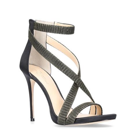 Devin Crystal Heeled Sandals, ${color}