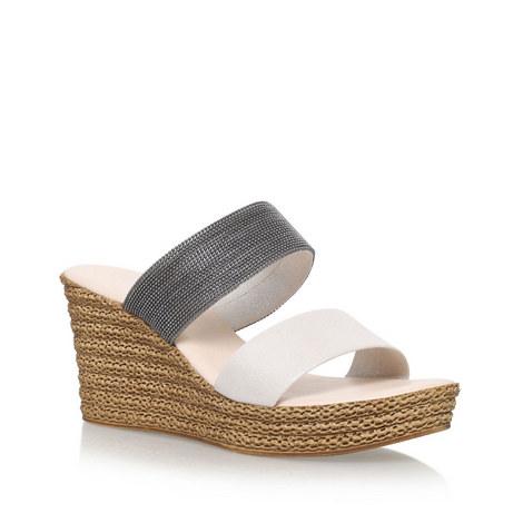 Sybil Mid Heel Wedge Sandals, ${color}