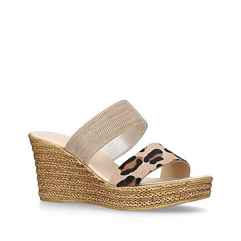 Sybil Mid Heel Wedge Sandals, ${color}