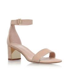 Gospel Block Heel Sandals