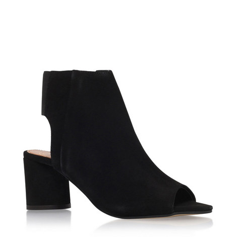 Raw Mid Heel Ankle Boots, ${color}