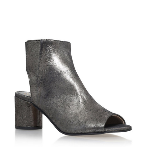 Raw Peep Toe Boots, ${color}