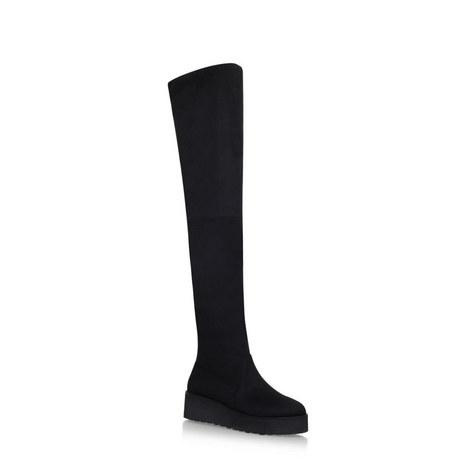 Over Knee Platform Boots, ${color}