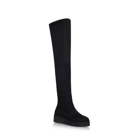 Over Knee Platform Boots, ${color}