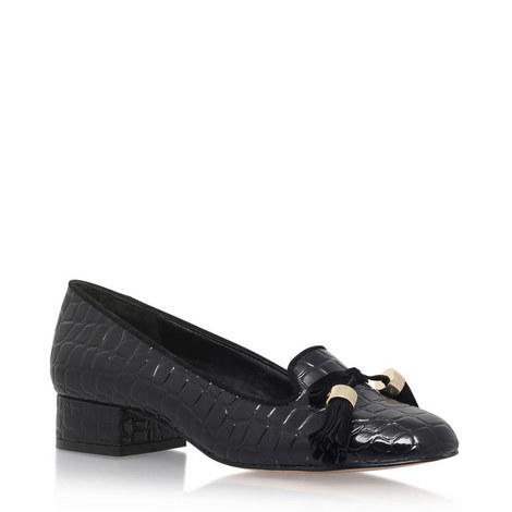Patent Crocodile Loafers, ${color}