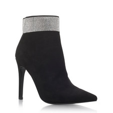 Gentry Crystal Heeled Boots