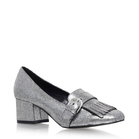 Agatha Mid Heel Loafers, ${color}