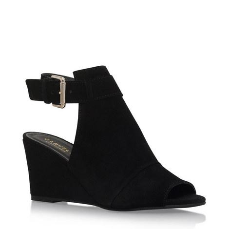 Aware Mid Heel Wedge Sandals, ${color}