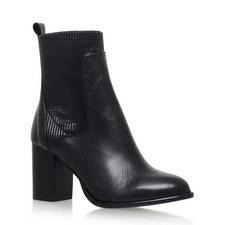 Nettle Block Heel Ankle Boots
