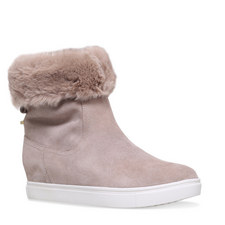 Scorpio Shearling Wedge Boots