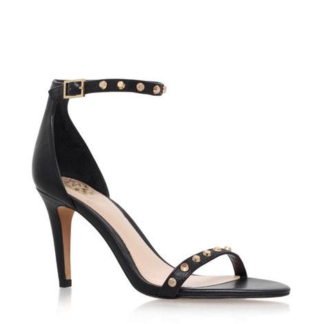 Cassandy Studded Heeled Sandals, ${color}