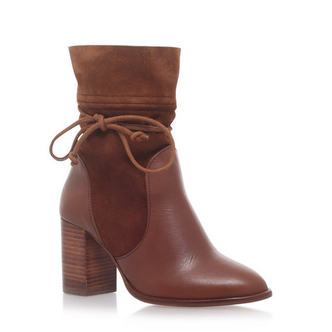 Demi Mid-Heel Ankle Boots, ${color}
