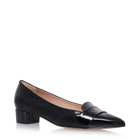 Dara Low-Heel Court Shoes, ${color}