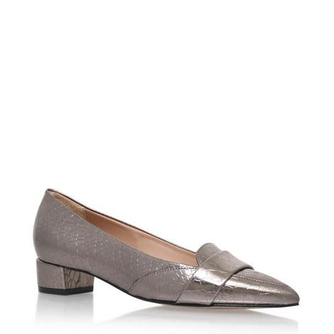 Dara Low Heel Court Shoes, ${color}
