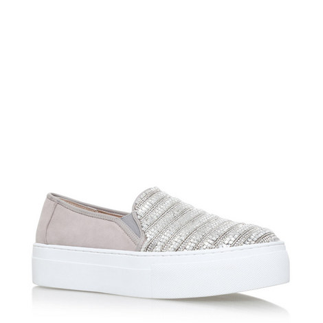 Embellished Slip-On Trainers, ${color}