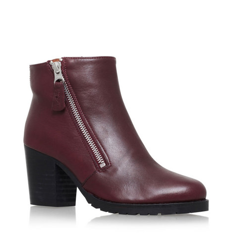 Sweep Zipped Ankle Boots, ${color}