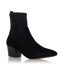 Silk Sock-Fit Boots