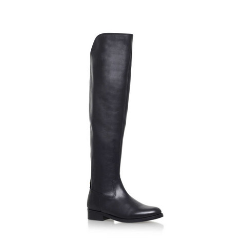 Varsity Over Knee Boots, ${color}