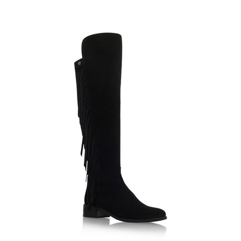 Sentina Fringed Boots, ${color}