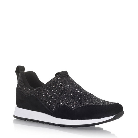 Logical Slip-On Glitter Trainers, ${color}