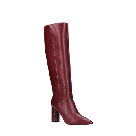 Trance Knee High Boots, ${color}