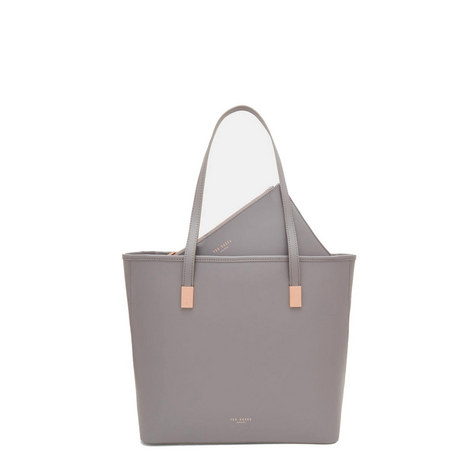 Chelsey Leather Tote Large, ${color}