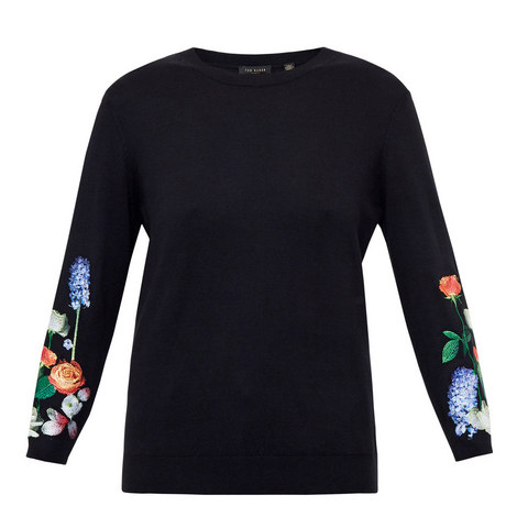 Deyzie Kensington Embroidered Sweater, ${color}