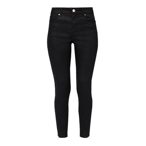 Dalilah Coated Skinny Jeans, ${color}