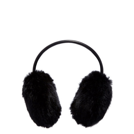 Evelet Faux Fur Ear Muffs, ${color}