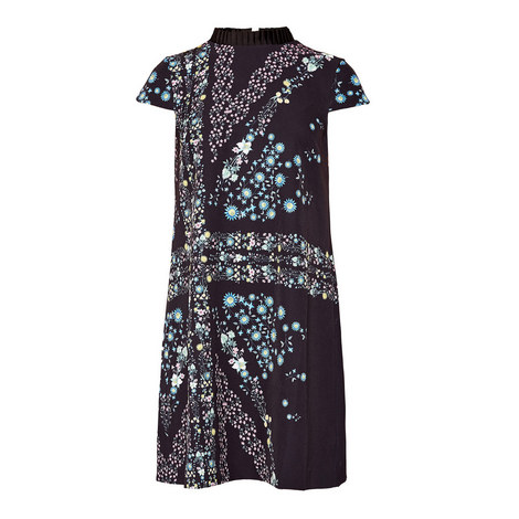 Abbew Pleated Shift Dress, ${color}