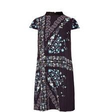 Abbew Pleated Shift Dress