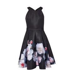 Jelina Chelsea Grey A-Line Dress