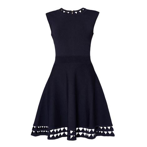 Kathryn Cut-Out Knit Dress, ${color}