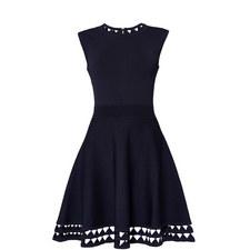 Kathryn Cut-Out Knit Dress